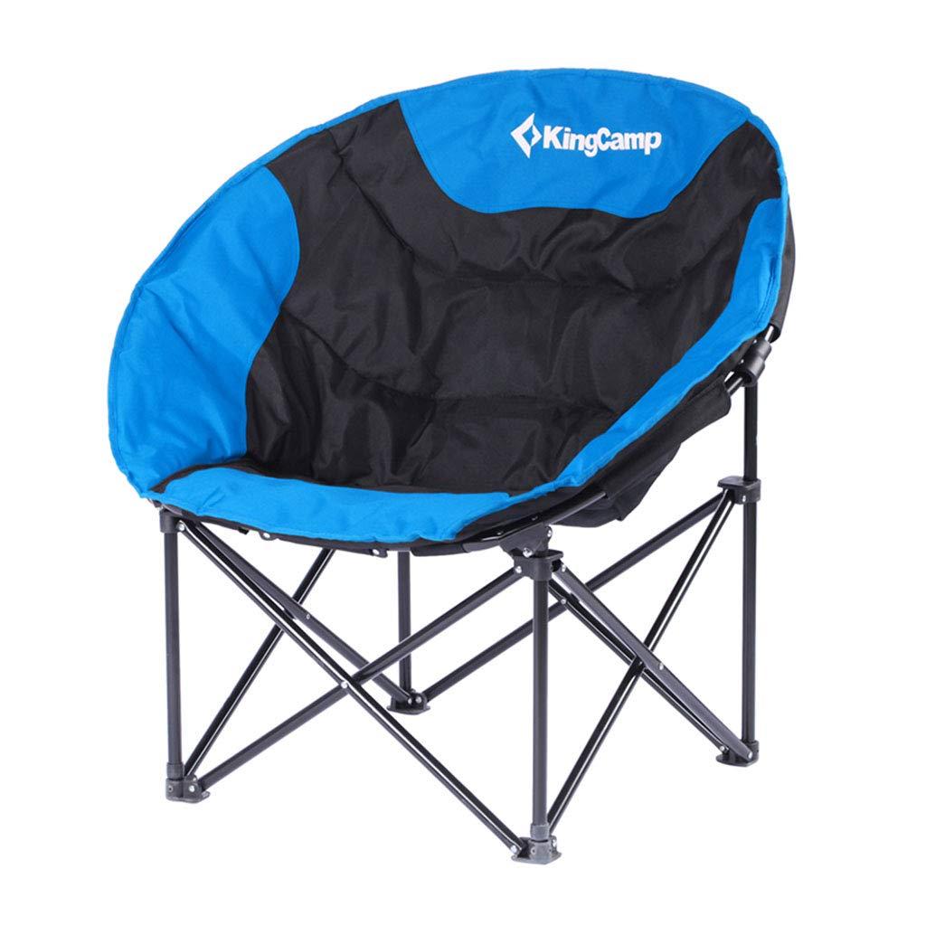 FF Barhocker Gepolsterter Mondstuhl - tragbarer Klappstuhl, Freizeit-Campingstuhl für Camping, Angeln, Festivals, Stall und Outdoor-Aktivitäten tragen Tasche