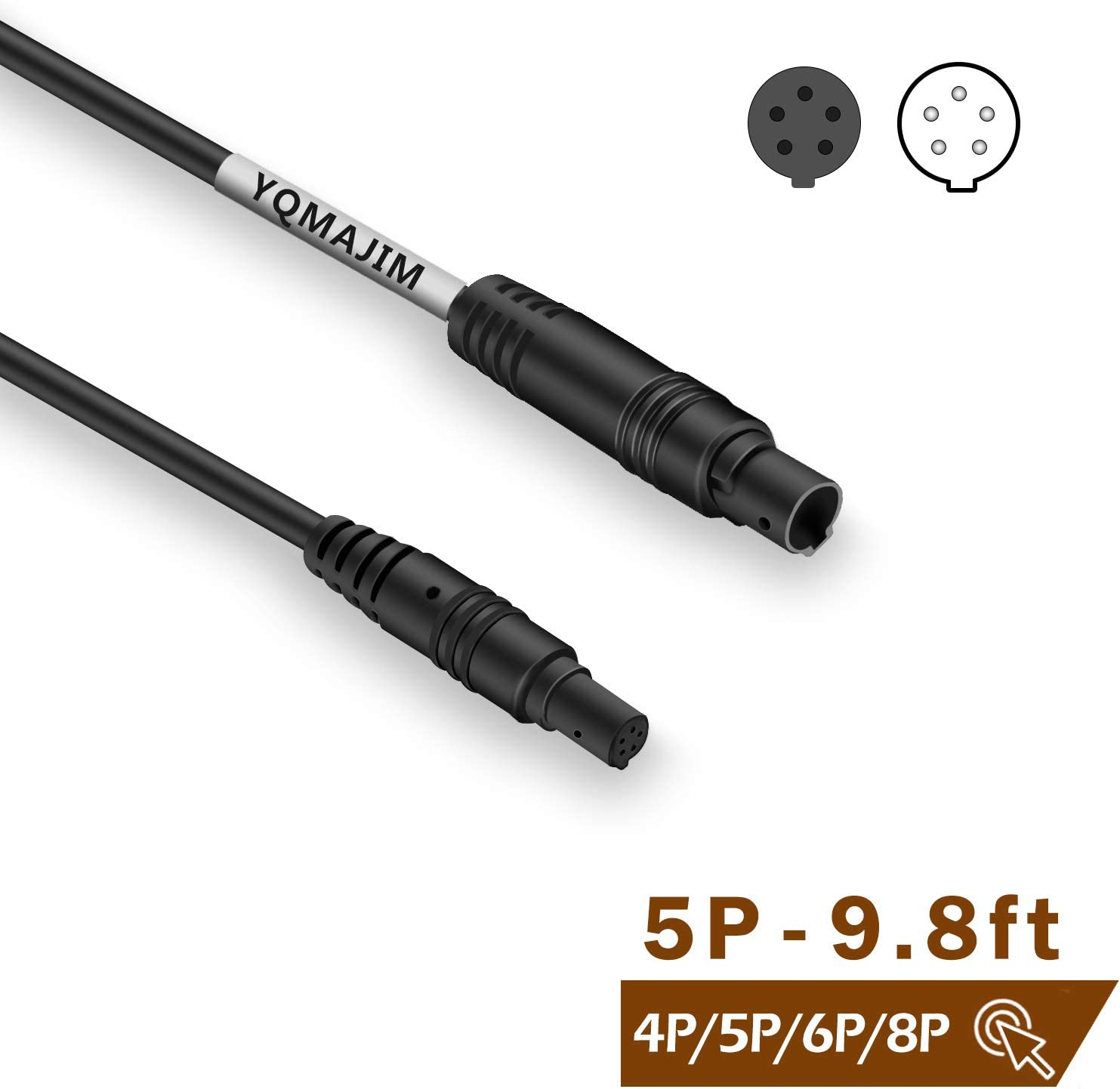 5Pin to 2.5mm Jack Cable Connector Video Extension Cable 9M//29.5FT DVR Video Cable for Backup Camera Mirror Backup Camera Cable