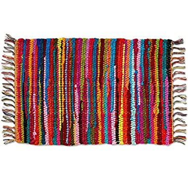 Home Furnishings by Larry Traverso Mardi Gras 13-Inch by 19-Inch Placemat