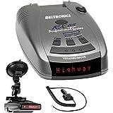 Beltronics RX65 Red Professional Series Radar/Laser Detector with RadarMount Suction Mount Bracket For Radar Detectors