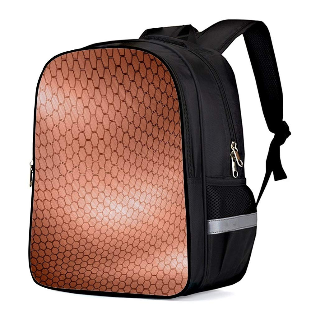 Color : Small Size XIANGNAIZUI Red Honeycomb Grid Multipurpose Daypacks Computer Backpack Fashion Backpacks Kids Backpacks Travel Bags School Bags Sports Bag