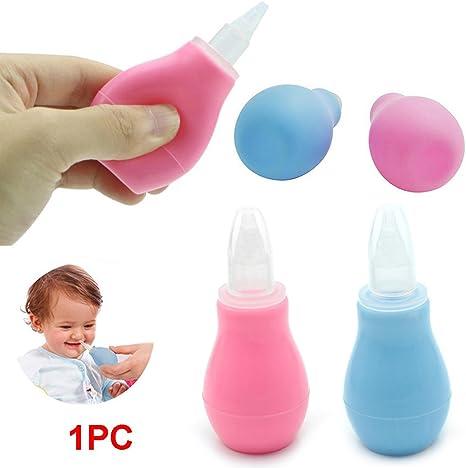 Portátil de aspirador nasal para bebé – Nariz Moco Limpiador Bomba ...