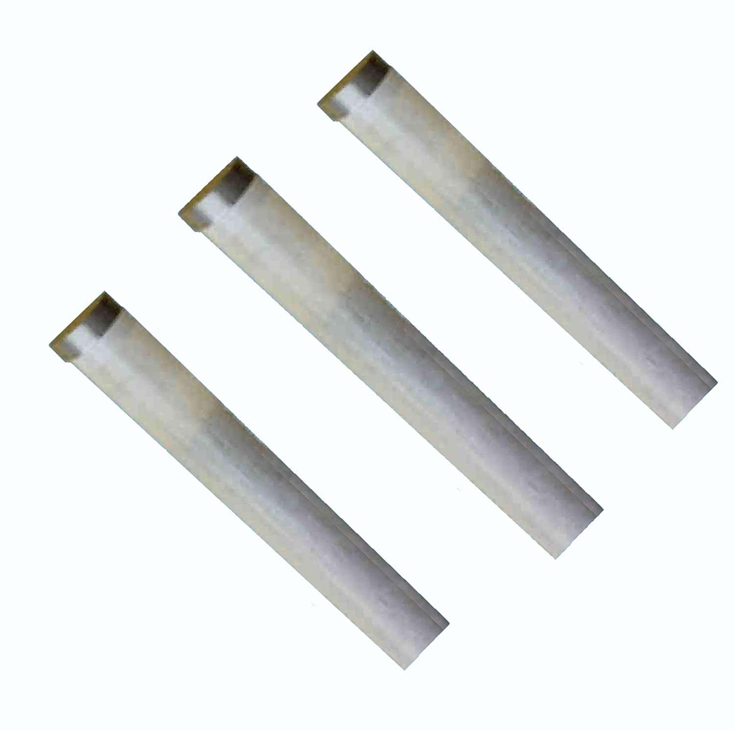 ELEMENTERY LIMITED 3 X Glen Type Silica Infrared Electric Fire Bar Glass Element S100F 085492 BF9300 1000W 554mm / 21 13/16'