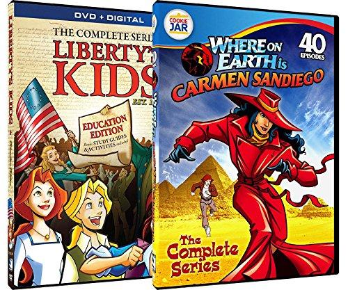 Liberty's Kids + Digital & Carmen Sandiego - Complete Series TV Bundle (Magic School Bus Movies Downloads)