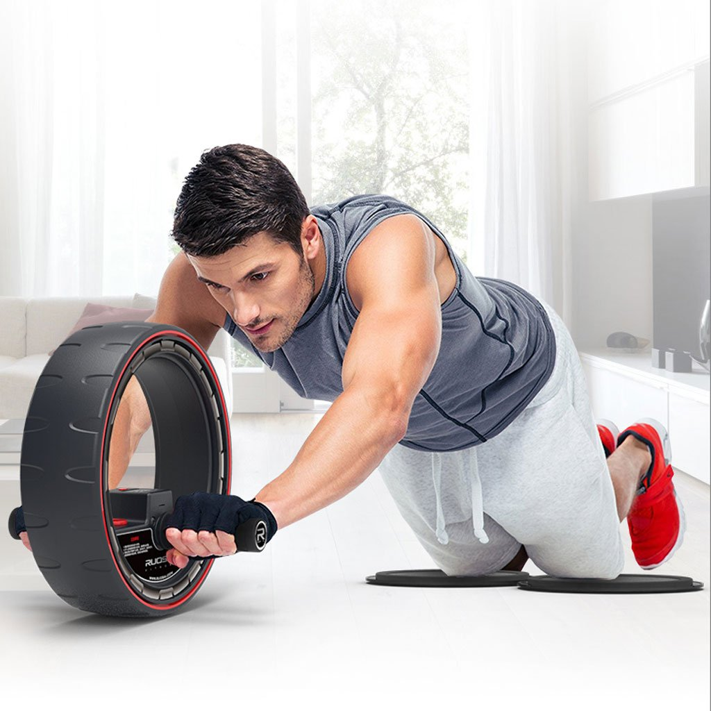 Big seller AB Roller AbsWheel Körperübungs-Gymnastik-Rolle Abdominal- Kerntrainings-Stärken-Trainings-Eignung-Trainer. AB Roller Bauchtrainer