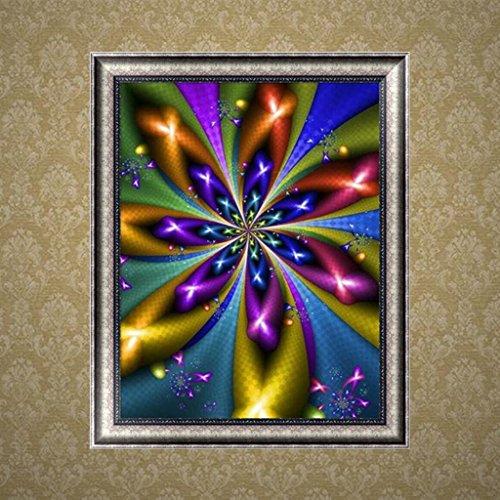 NNDA CO Abstract Flower DIY 5D Diamond Embroidery