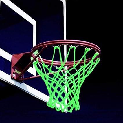 Amazon.com: J&T Red de aro de baloncesto que brilla en la ...