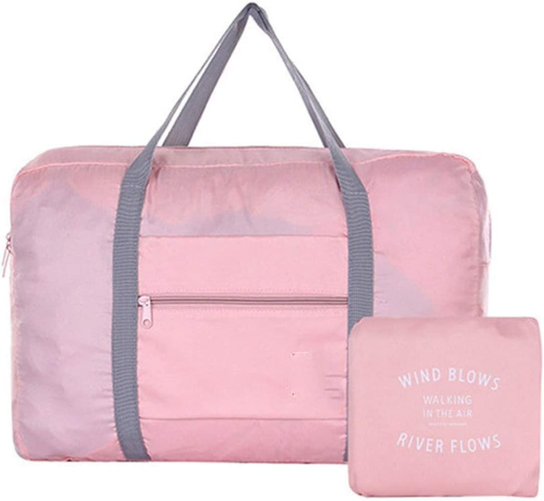 Women Travel Bagwaterproof Nylon Travel Bags Organizer Packing Cubes Women Men Large Capacity Folding Bag Luggage Girl Holiday Bag,Blue1