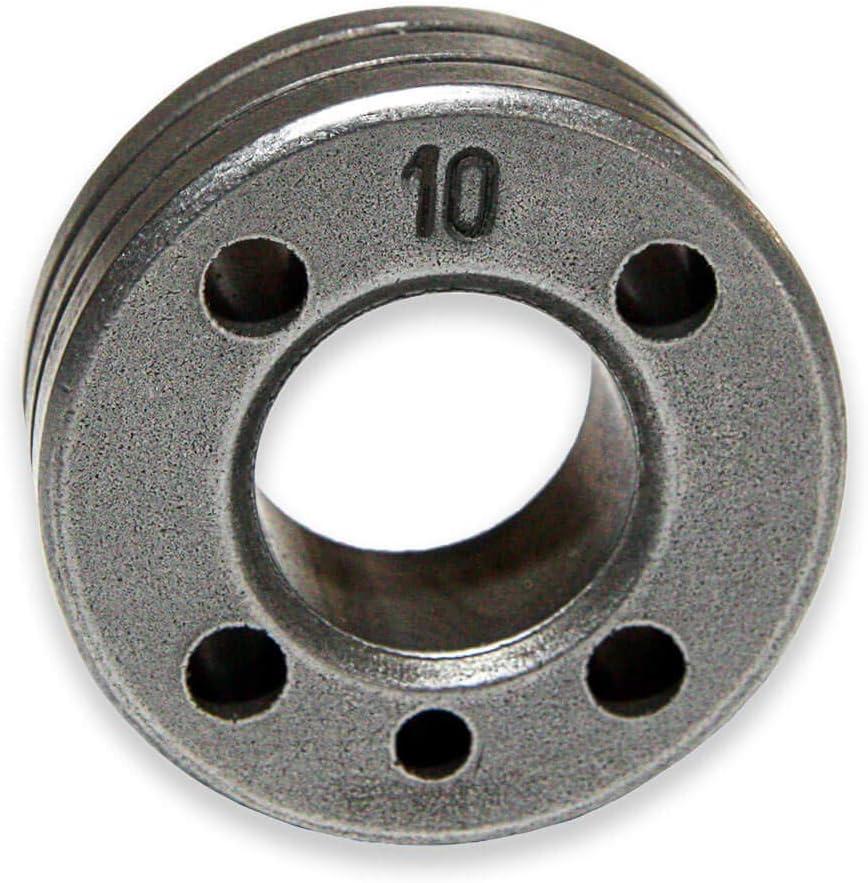 Typ:Stahl 0.6//0.8 mm TELWIN Drahtvorschubrolle f/ür Telwin Inverpulse 625 AQUA VPE 1 St/ück