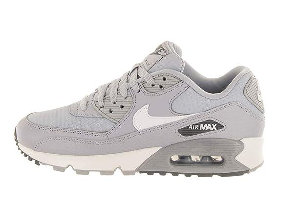 on sale 43e36 50915 Amazon.com   Nike Women s Air Max 90 Sneakers, Wolf Grey Summit White-Dark  Grey (US 10)   Running
