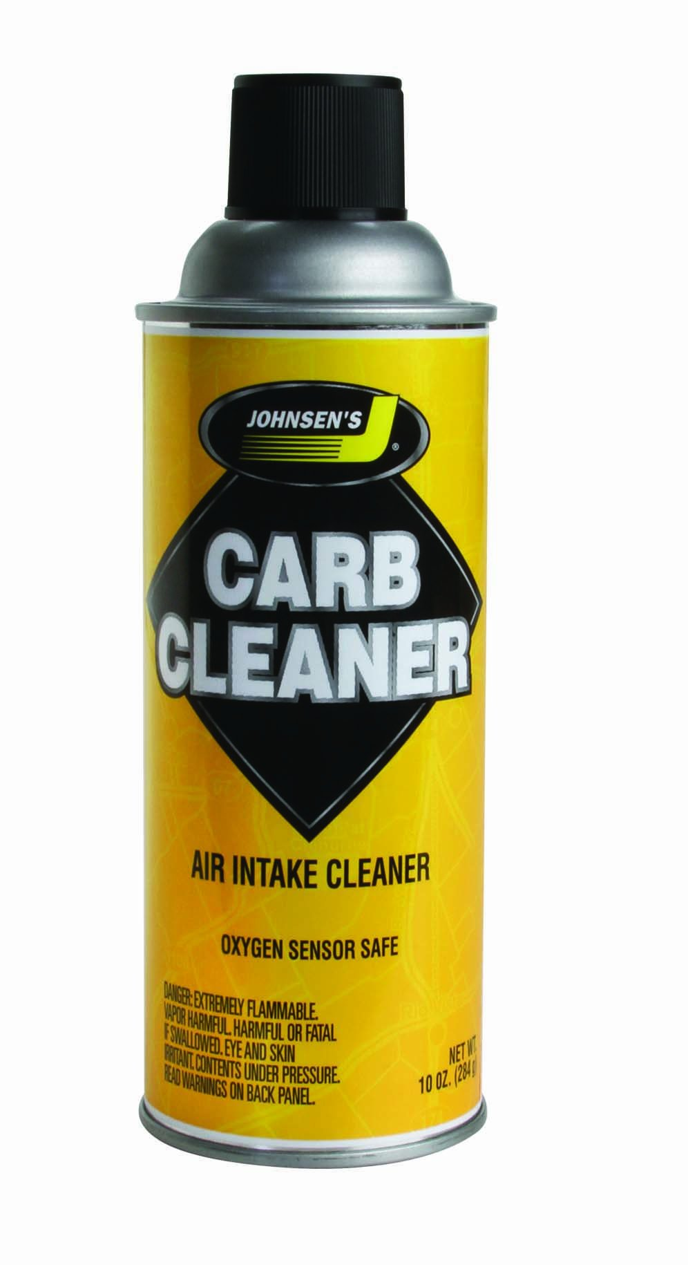 Johnsen's 4641NC-12PK Non-VOC Compliant Carburetor Cleaner Spray - 10 oz., (Pack of 12) by Johnsen's