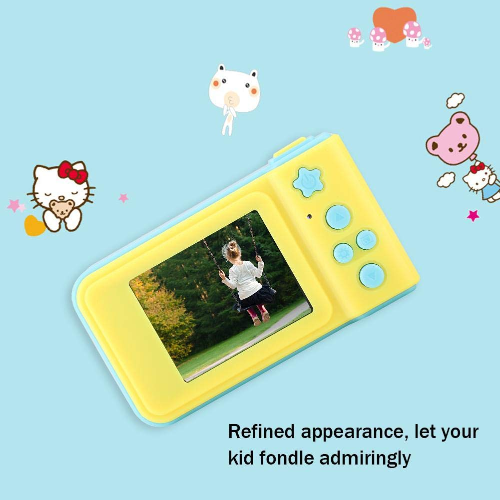Lazmin X1 Digital Camera for Childrens, Portable HD 1080P 2inch Cartoon Video Recorder Camcorder Toys for Kids Birthday Gift by Lazmin (Image #5)