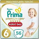 Prima Premium Care Külot Bebek Bezi 6 Beden Ekstra Large İkiz Paket, 56 Adet