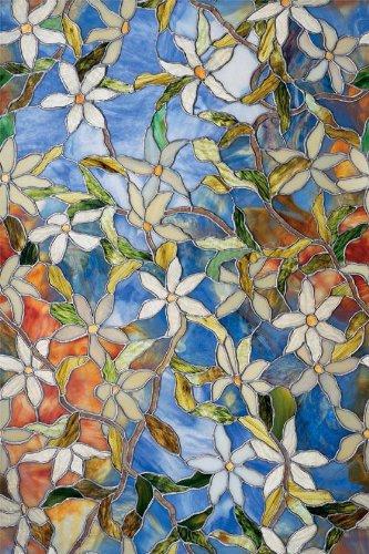(Artscape 02-3007 Clematis Window Film 24