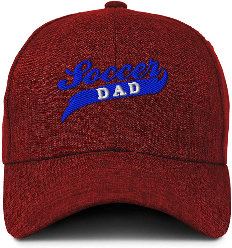 Custom Baseball Cap Soccer Dad Style 2 Embroidery Casual Hats for Men /& Women