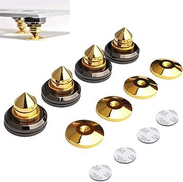 4 unidades Goldene altavoz pinchos Subwoofer CD audio amplificador ...