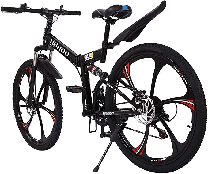 Details about  /Highway Commuters Full Suspension Road Bike 21 Speed Disc Brakes 700c MTB