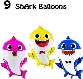 Amazon.com: Juego de 3 globos para fiesta de cumpleaños con ...