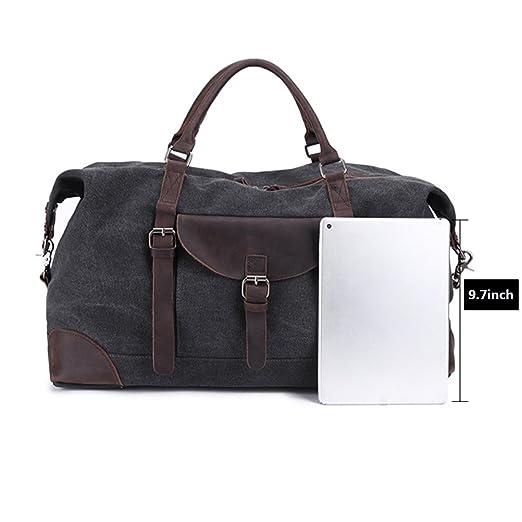2bbbeed7b4ad Amazon.com: Zhuhaitf Extendable Travel Handbag Waterproof Canvas ...