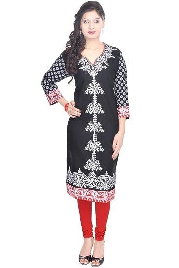 f905201557b Vihaan Impex Indian Kurtis for Women Kurti Kurtas for Women Bust Size 40  Inches Multicolor Kurti