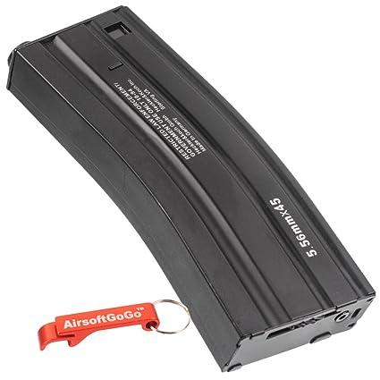 Amazon.com: 300rd hi-cap Revista para Airsoft M4 M16 AEG ...