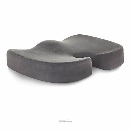 Linenspa - Cojín ortopédico para asiento de espuma de gel ...