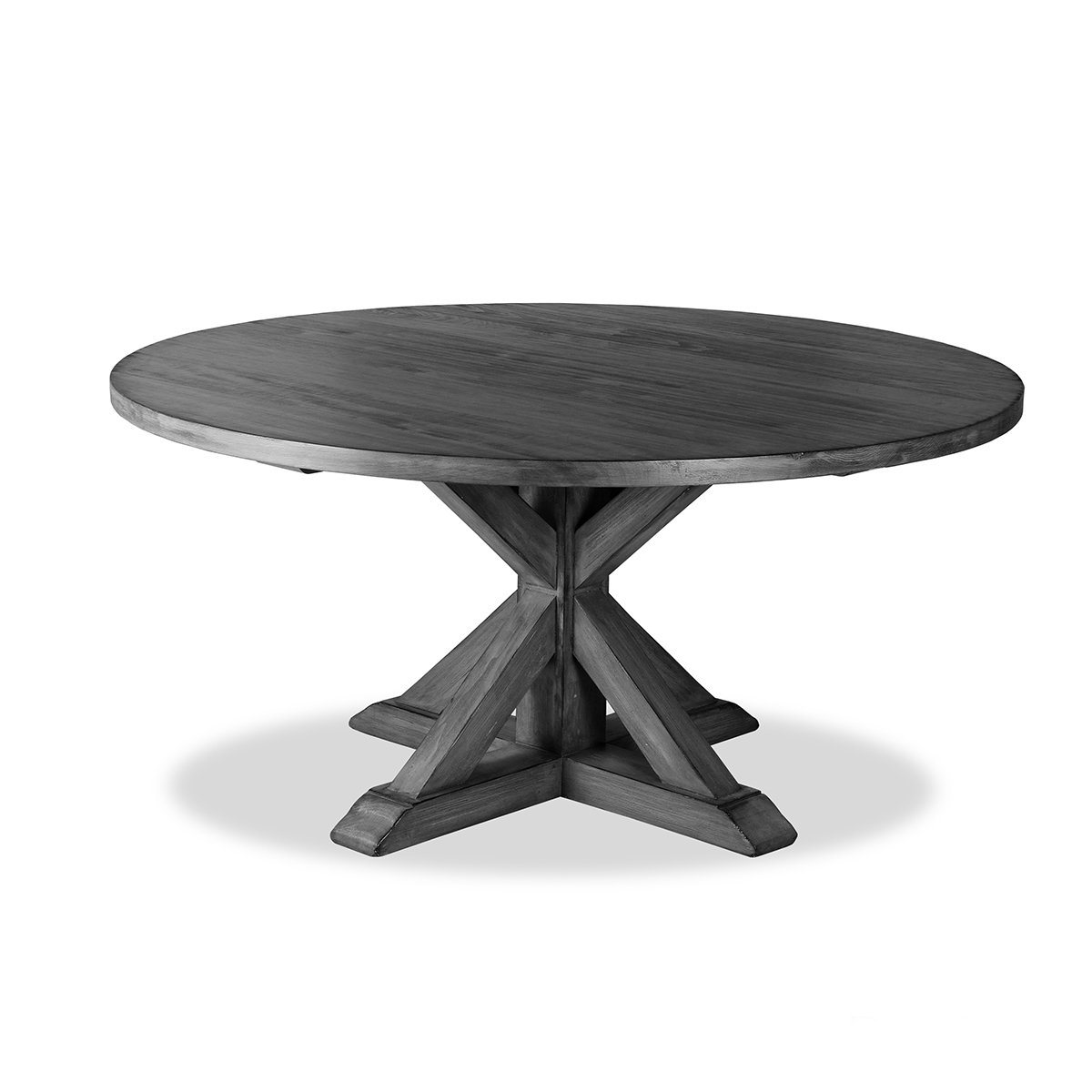 Amazoncom South Cone Home Bayliss Round Dining Table 72 Grey