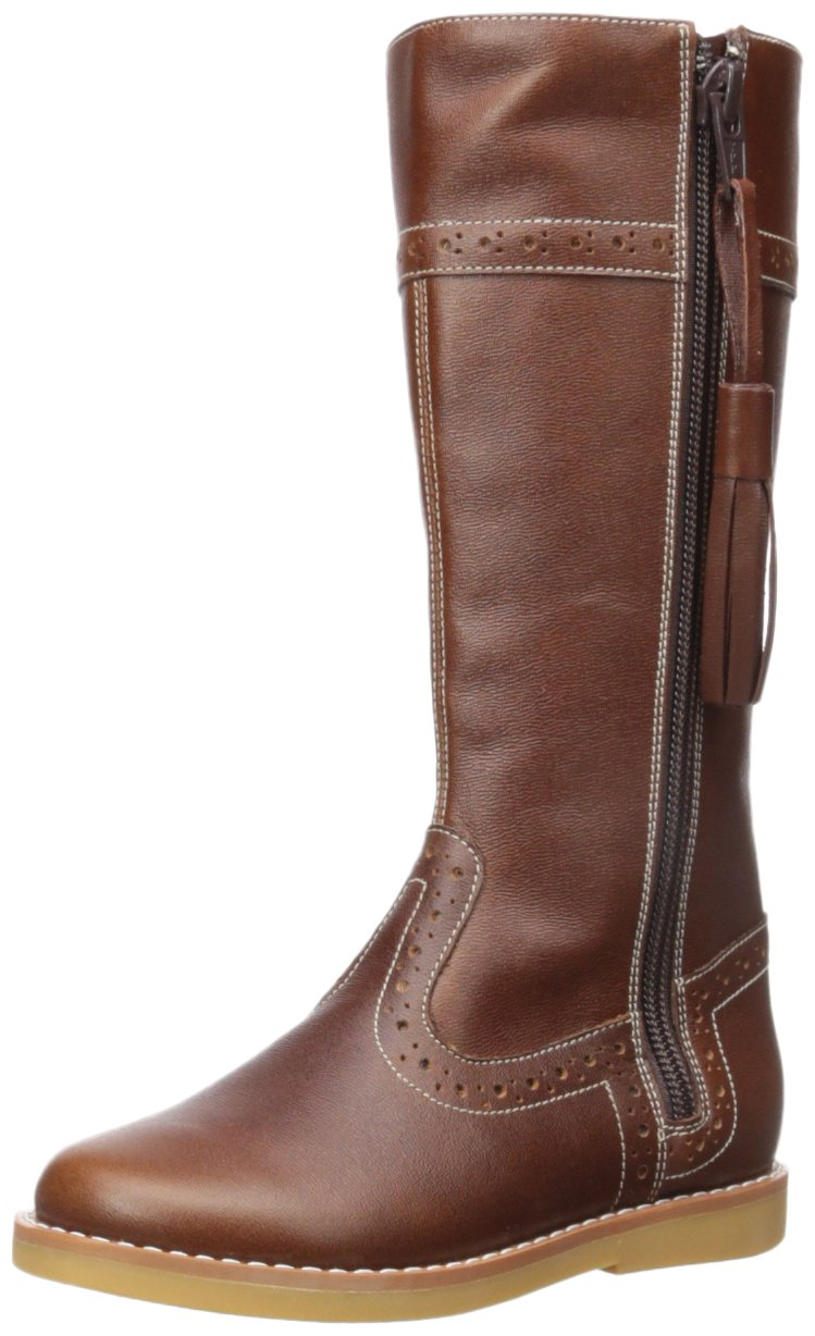 Elephantito Girls' Riding Fashion Boot, Brown, 9 M US Toddler by Elephantito