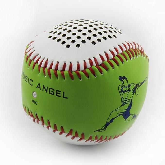 Funda de Piel y Altavoces de béisbol Bluetooth Recargables para ...