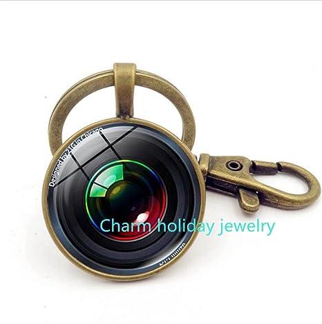 Llavero, diseño de lente de la cámara lente de cámara lente ...