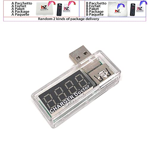 Medidor de voltaje de corriente móvil USB digital, medidor ...