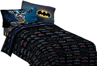 DC Comics Batman hoja Set Guardian velocidad Ropa de cama accesorios