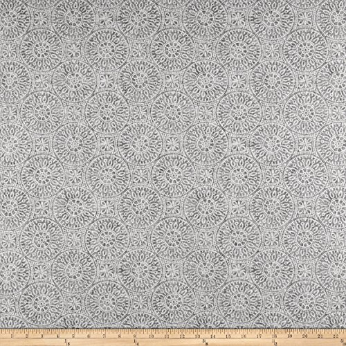 Magnolia Home Fashions Tibet Porcelain Fabric By The Yard (Porcelain Magnolia)