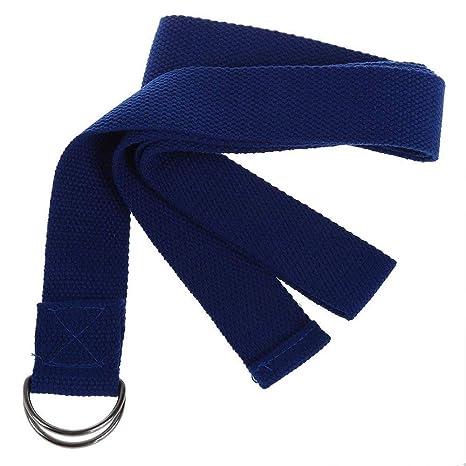 Ogquaton Correa de Yoga Ejercicio Cinturón de Hebilla ...