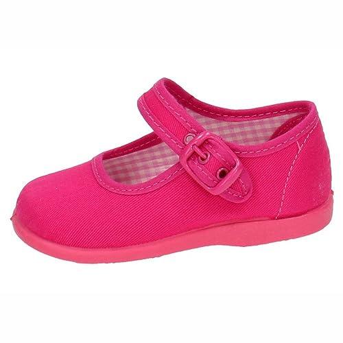 MADE IN SPAIN 951 Bambas DE Lona Fuxia NIÑA Zapatillas: Amazon.es: Zapatos y complementos