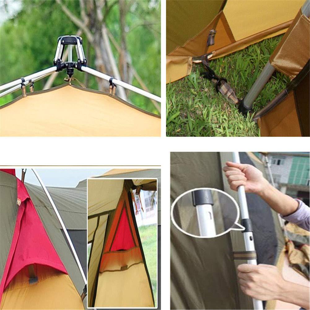Zelt, 3-4 Personen Doppel-Ebenen-Automatik Familienreisen Beach Waterproof Portable OverGrößed Portable Waterproof Camping Zelt fafddb