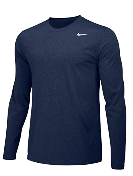 b467b81e Amazon.com: Nike Mens Longsleeve Legend - Navy - Small: Clothing