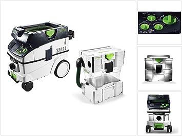 Festool CTM 26 E AC CLEANTEC - Aspirador portátil (26 L) M (574978) + separador CT-VA.: Amazon.es: Bricolaje y herramientas