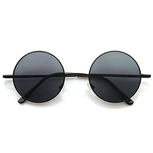 cfda7102ac7 Amazon.com  MLC Eyewear Retro Vintage Round Sunglasses UV400  Clothing