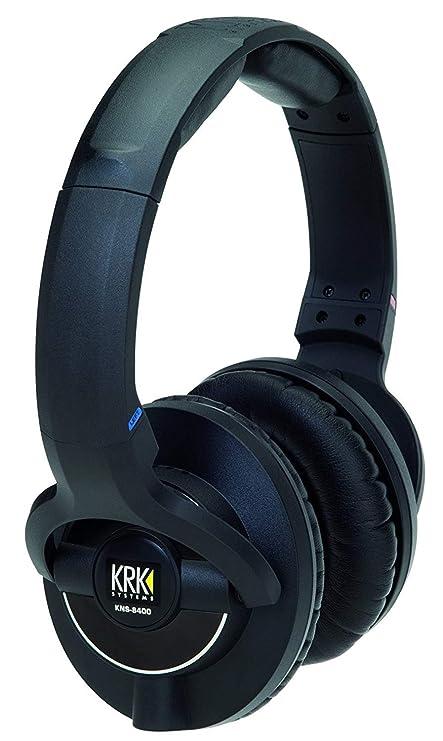 KRK KNS 8400 Negro Circumaural Diadema Auricular - Auriculares (Circumaural, Diadema, Alámbrico,