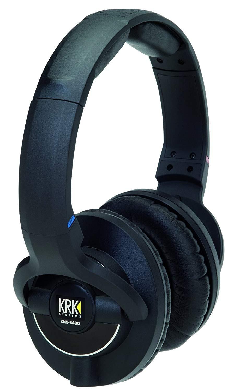 KRK KNS 8400 Auriculares para monitor de estudio circumaural cerrados on-ear con control de volumen