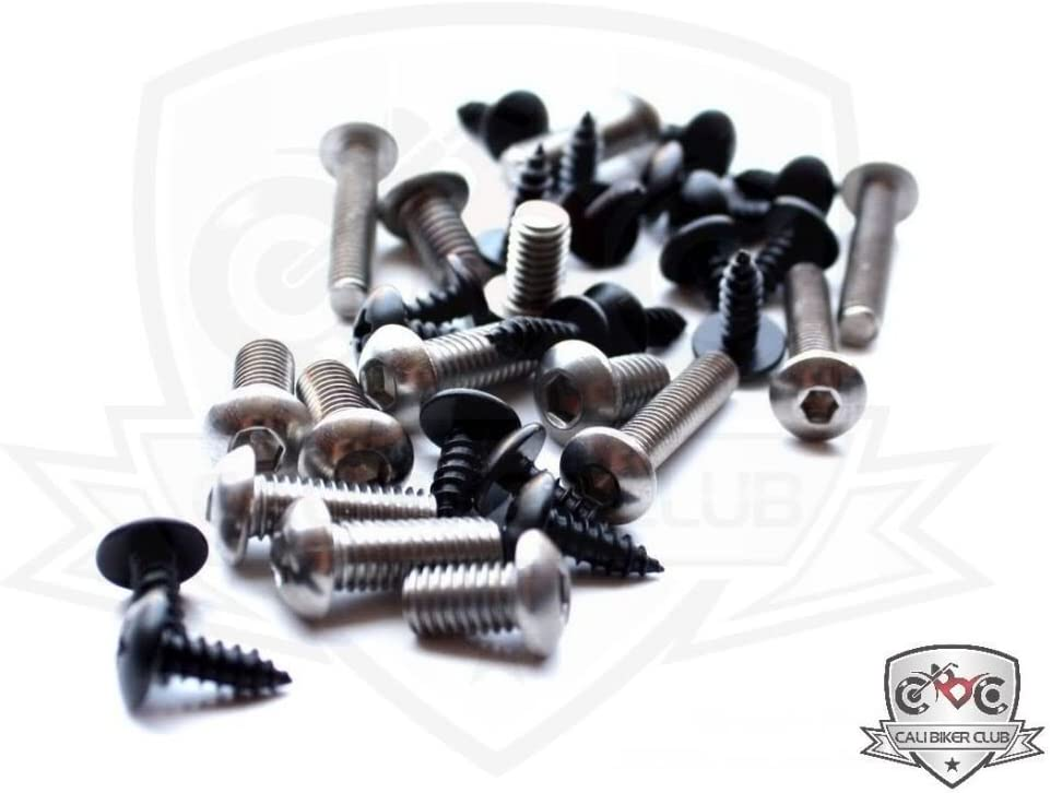 Bolts Kawasaki 600R 1988-1997 Motorcycle Fairing Bolt Kit Fasteners Ninja 600 88 89 90 91 92 93 94 95 96 97 Screws