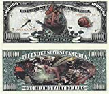 Set of 10 Bills-Fairies Million Dollar Bill