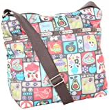 LeSportsac Small Cleo Cross-Body Bag,Kitchy,One Size, Bags Central