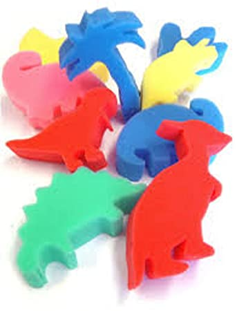 Amazon Com Ci Cs 9074 Dinosaur Shaped Sponges For Painting And