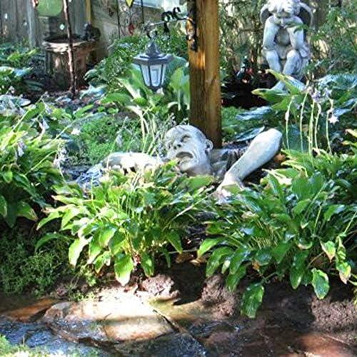 laoonl Character Swamp Statue,Garden Resin Sculpture,The Zombie of Montclaire Moors Statue Outdoor Decoration