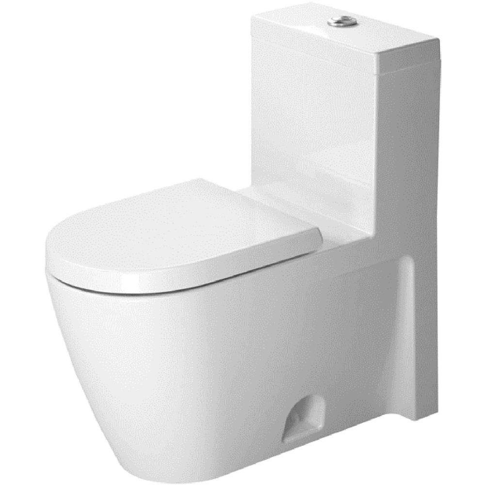Duravit 2133010005 Toilet Starck 2, 1-Piece - Toilet Seats - Amazon.com