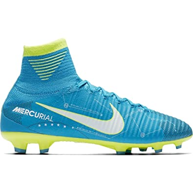 Nike Junior Mercurial Superfly V DF NJR FG Football Boots 921483 Soccer  Cleats (UK 5 3c6339918