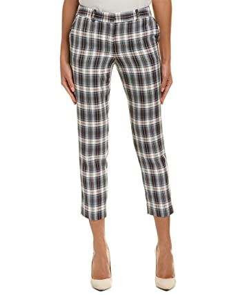 48261464634e9 Tahari by ASL Womens Ankle Length Plaid Pants at Amazon Women's Clothing  store: