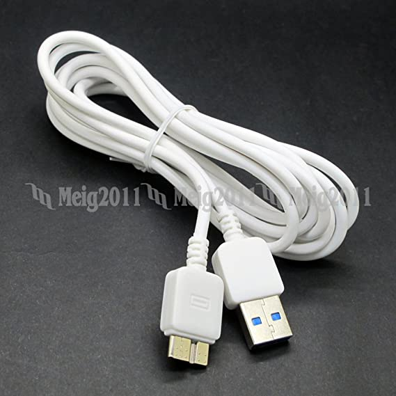 Amazon.com: 6.5 ft 2 m Micro USB 3.0 Data Sync cable del ...